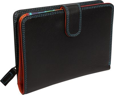 MyWalit Large Wallet/Zip Purse Black Pace - MyWalit Women's Wallets