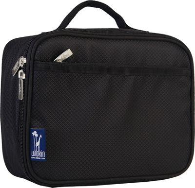 Wildkin Rip-Stop Black Lunch Box Rip-Stop Black - Wildkin Travel Coolers