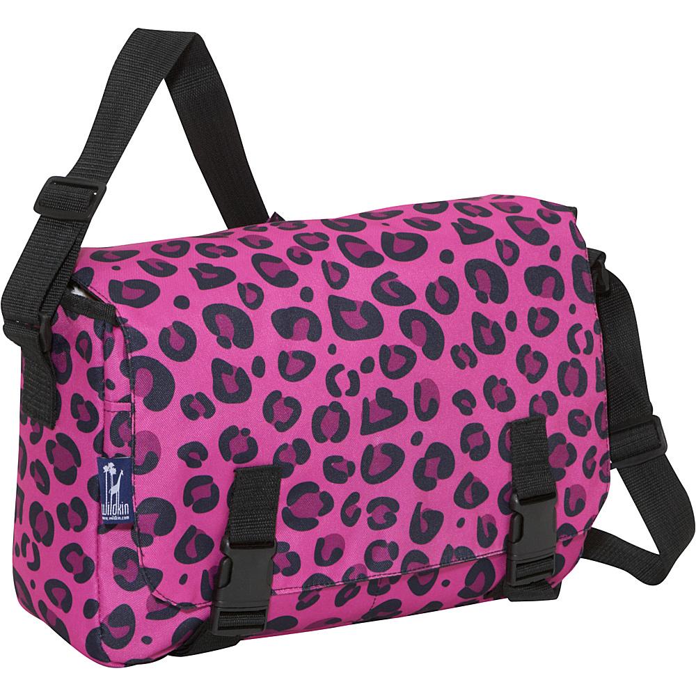 Wildkin 15 x 10 Messenger Bag Pink Leopard - Wildkin Messenger Bags - Work Bags & Briefcases, Messenger Bags