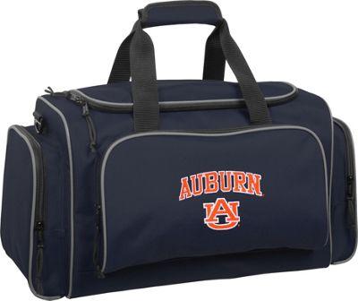 Wally Bags Auburn University Tigers 21 inch Collegiate Duffel Navy - Wally Bags Rolling Duffels