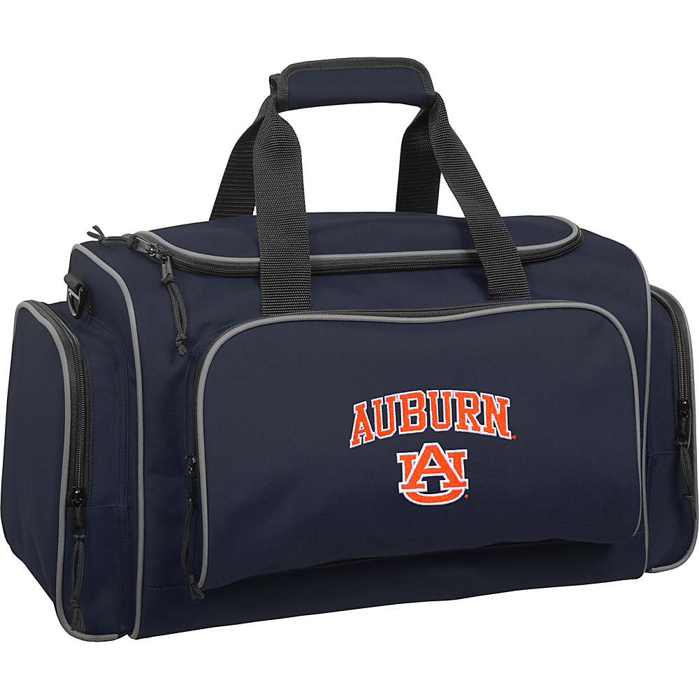 Wally Bags Auburn University Tigers 21 Collegiate Duffel Navy Wally Bags Rolling Duffels