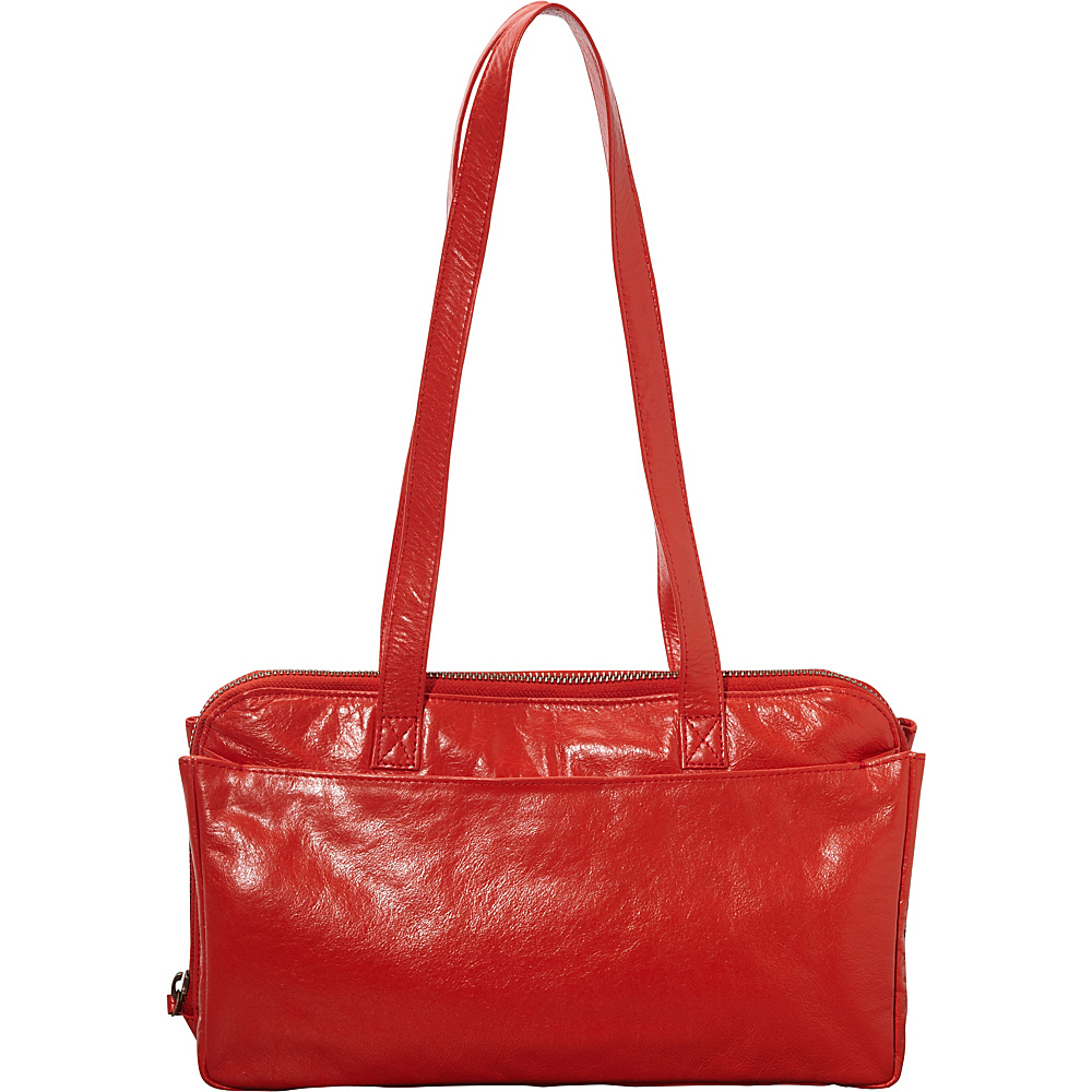 Latico Leathers Gillian Shoulder Bag Poppy - Latico Leathers Leather Handbags - Handbags, Leather Handbags