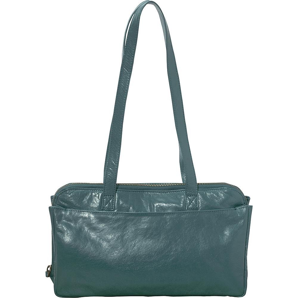 Latico Leathers Gillian Shoulder Bag Sea Green - Latico Leathers Leather Handbags - Handbags, Leather Handbags