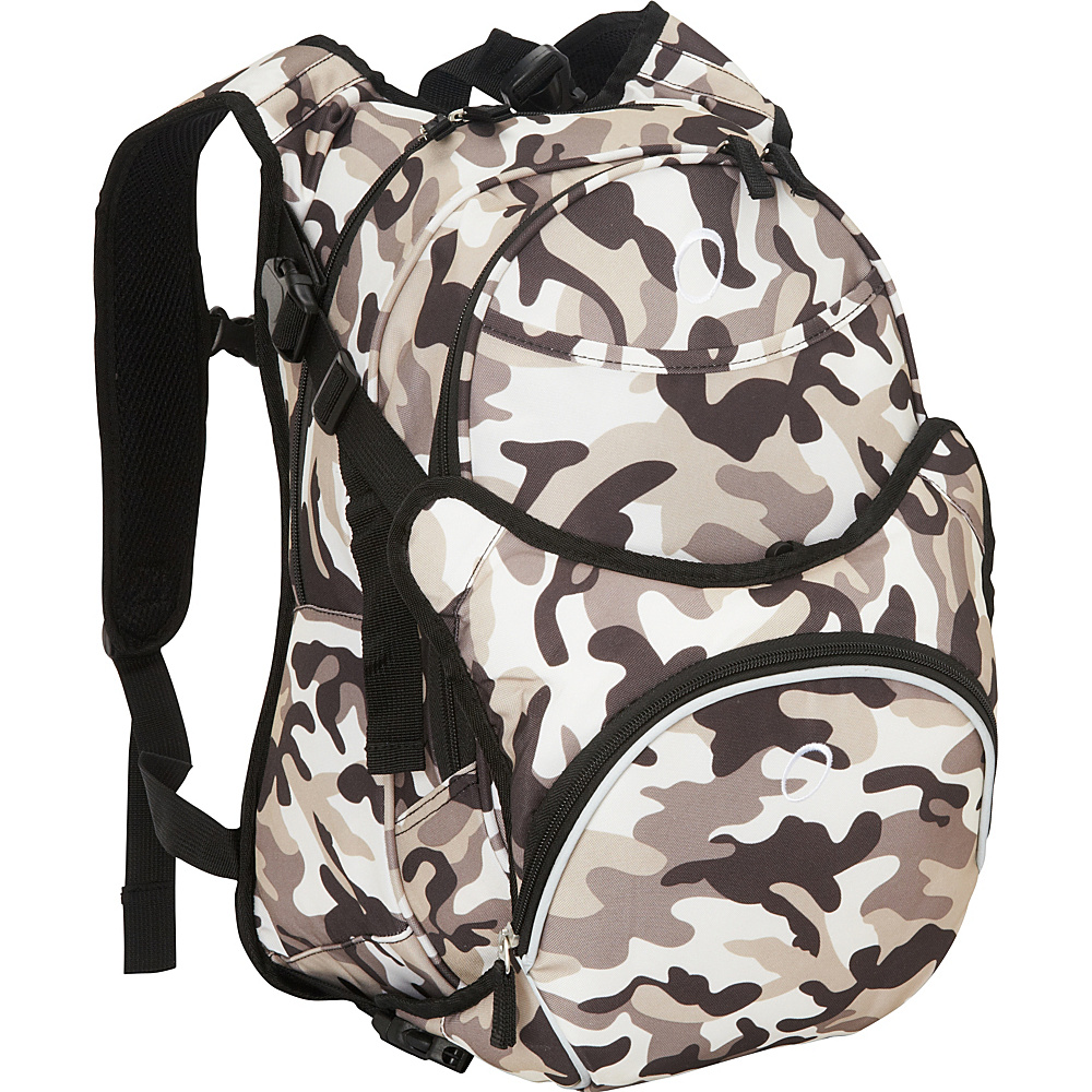 Obersee Innsbruck Diaper Bag Backpack With Detachable Cooler Camo - Obersee Diaper Bags & Accessories