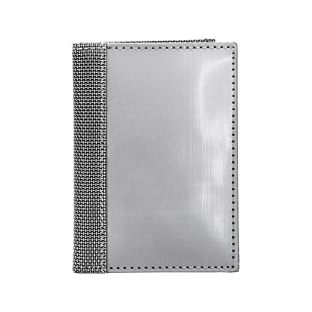 Stewart Stand Driving Stainless Steel Wallet ID RFID Silver Grey Mesh Stewart Stand Men s Wallets
