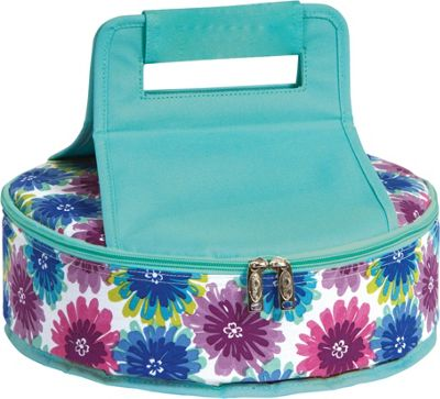 Picnic Plus Cake 'n Carry Blue Blossom - Picnic Plus Outdoor Coolers
