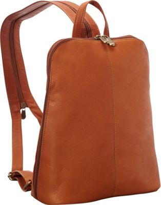 Le Donne Leather Womens iPad/eReader Backpack Sling Tan - Le Donne Leather Leather Handbags
