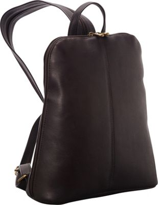 Le Donne Leather Womens iPad/eReader Backpack Sling Cafe - Le Donne Leather Leather Handbags