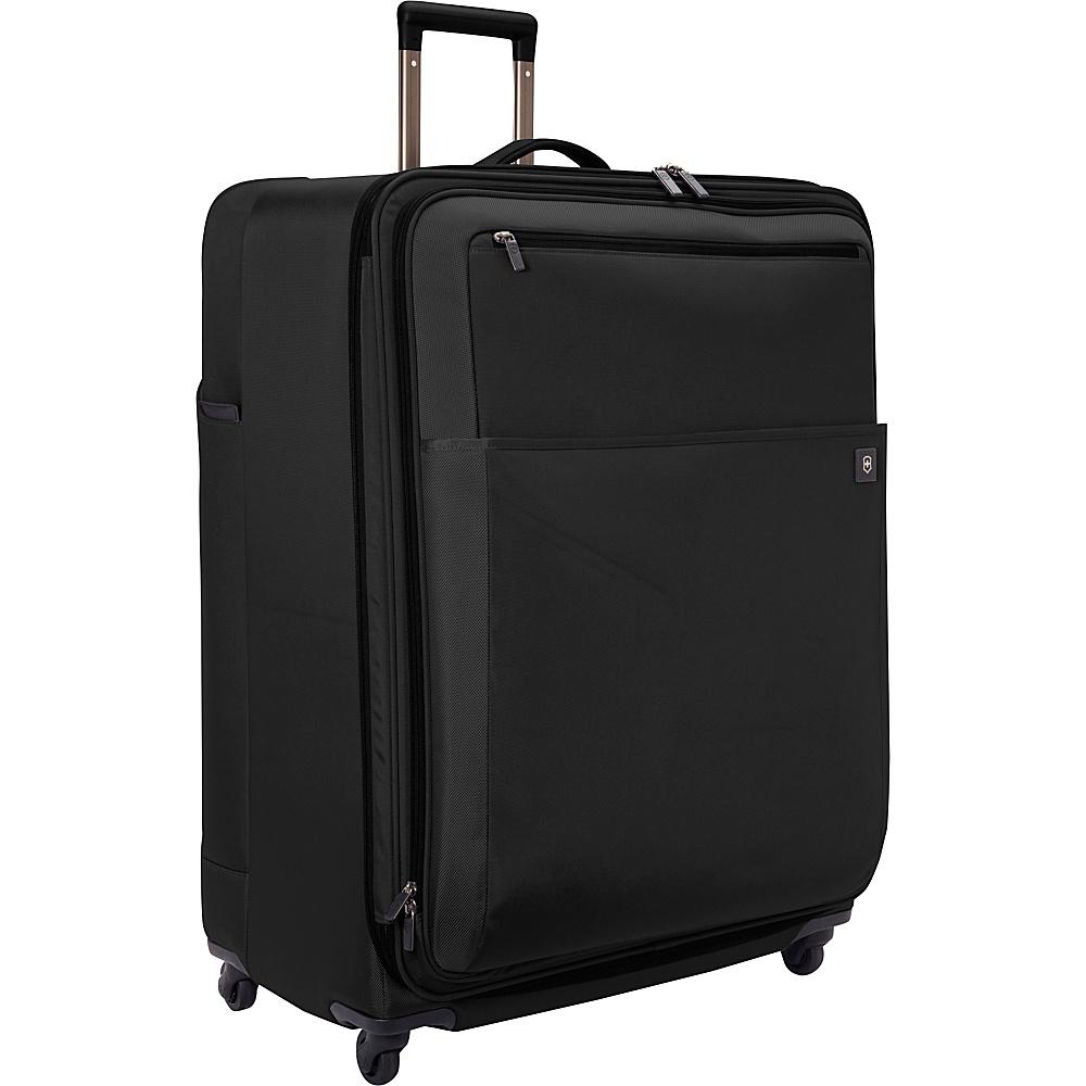 "Victorinox Avolve 2.0 30"" Spinner Black/Black - Victorinox Large Rolling Luggage"