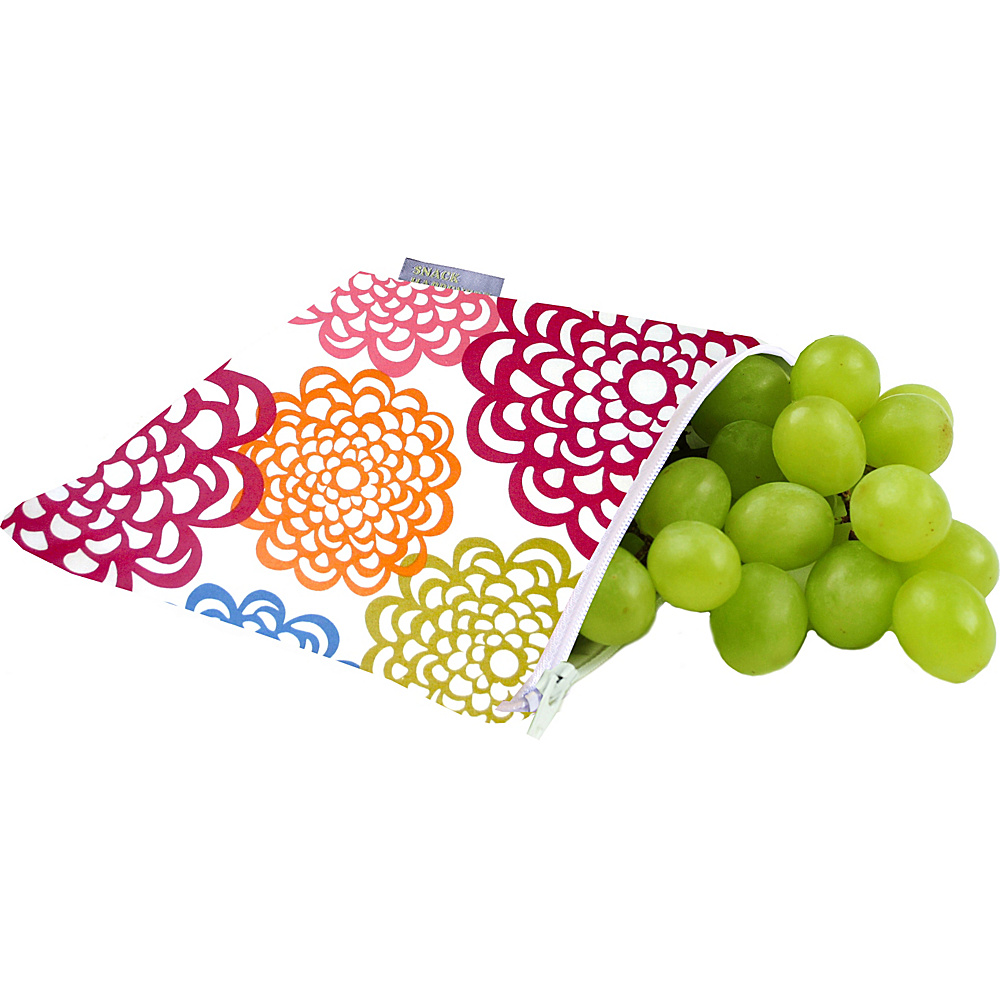 Itzy Ritzy Snack Happens Reusable Snack and Everything Bag Fresh Bloom - Itzy Ritzy Diaper and Baby Accessories