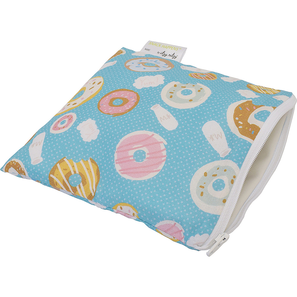Itzy Ritzy Snack Happens Reusable Snack and Everything Bag Donut Shop Itzy Ritzy Diaper Bags Accessories