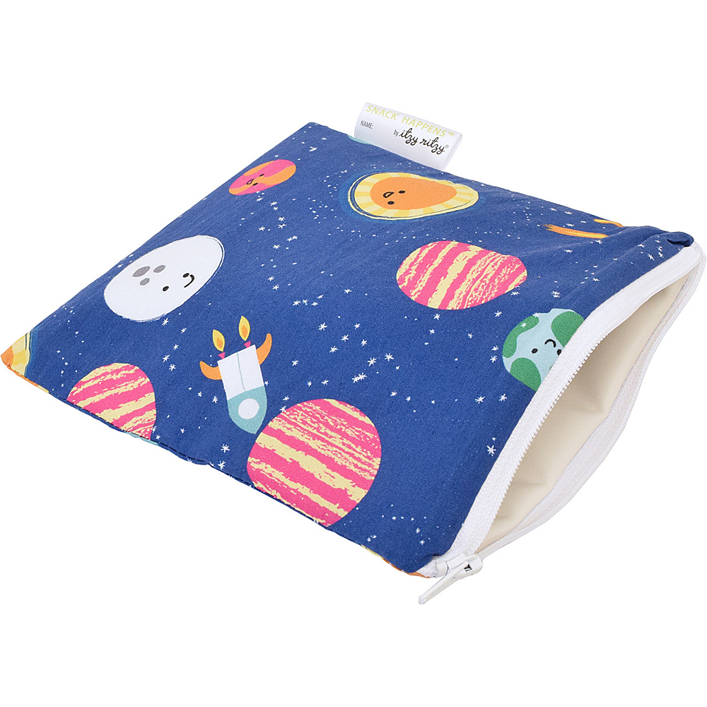Itzy Ritzy Snack Happens Reusable Snack and Everything Bag Interstellar Itzy Ritzy Diaper Bags Accessories