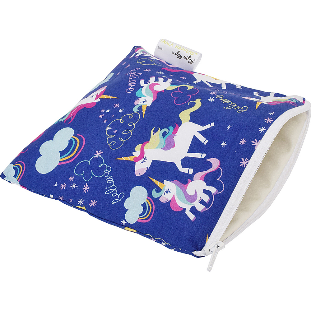 Itzy Ritzy Snack Happens Reusable Snack and Everything Bag Unicorn Dreams Itzy Ritzy Diaper Bags Accessories