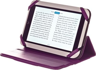 M-Edge Incline 360 Case for Nook HD Purple - M-Edge Electronic Cases