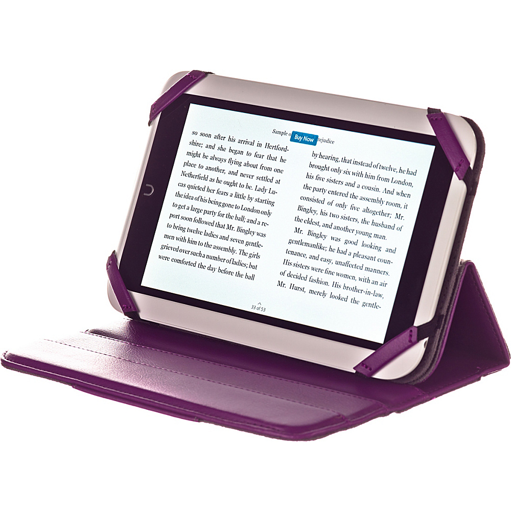M Edge Incline 360 Case for Nook HD Purple M Edge Electronic Cases