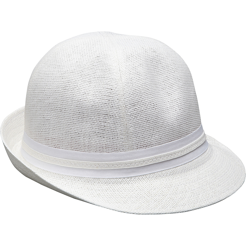 Magid Paper Straw Riding Cap White Magid Hats Gloves Scarves