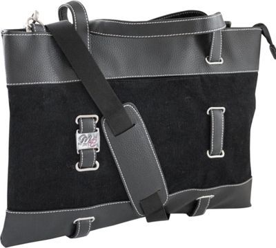 Mobile Edge Mobile Edge Corduroy Ultrabook Tote - 14.1 inch/15 inch Mac Black - Mobile Edge Women's Business Bags