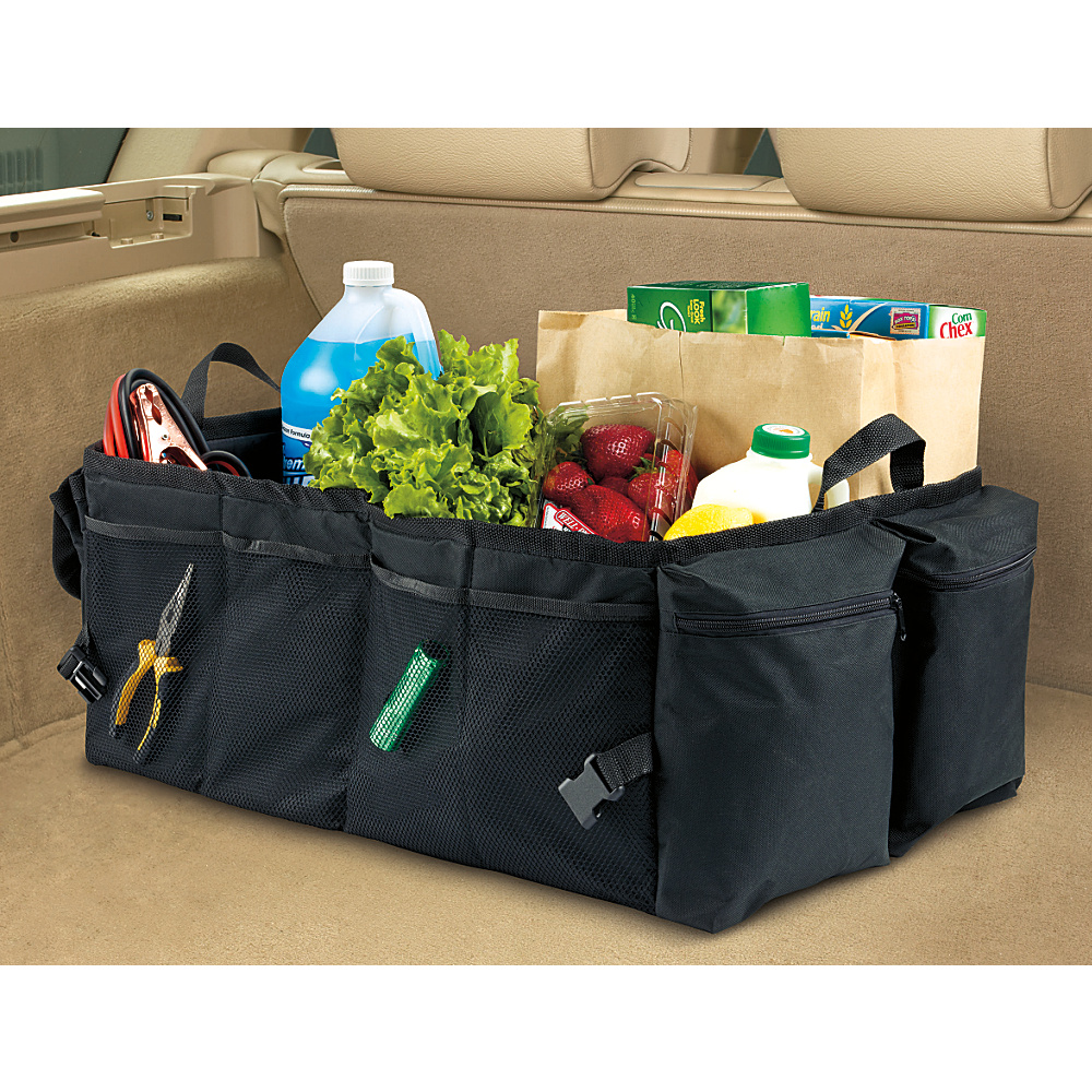 High Road Gearnormous Trunk Organizer Black High Road Trunk and Transport Organization