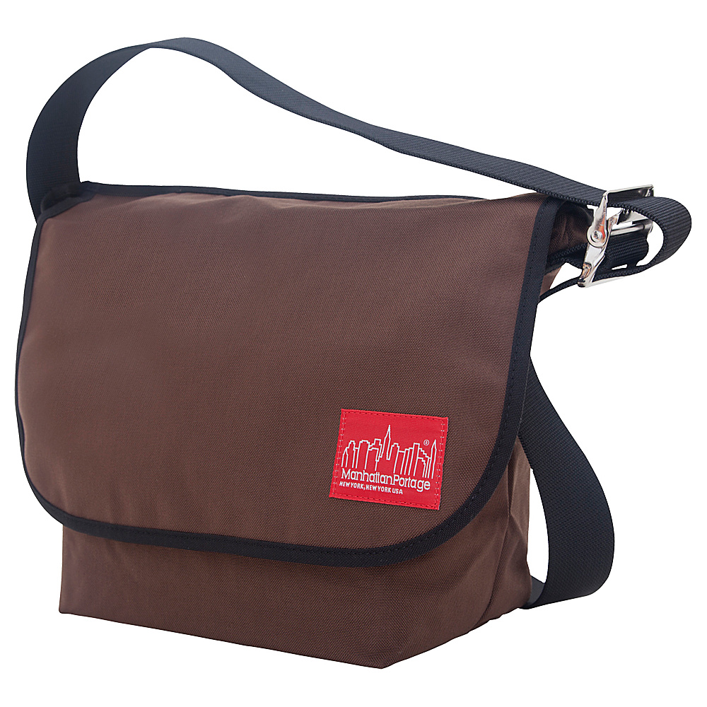 Manhattan Portage Vintage Messenger Bag (M) Dark Brown - Manhattan Portage Messenger Bags - Work Bags & Briefcases, Messenger Bags