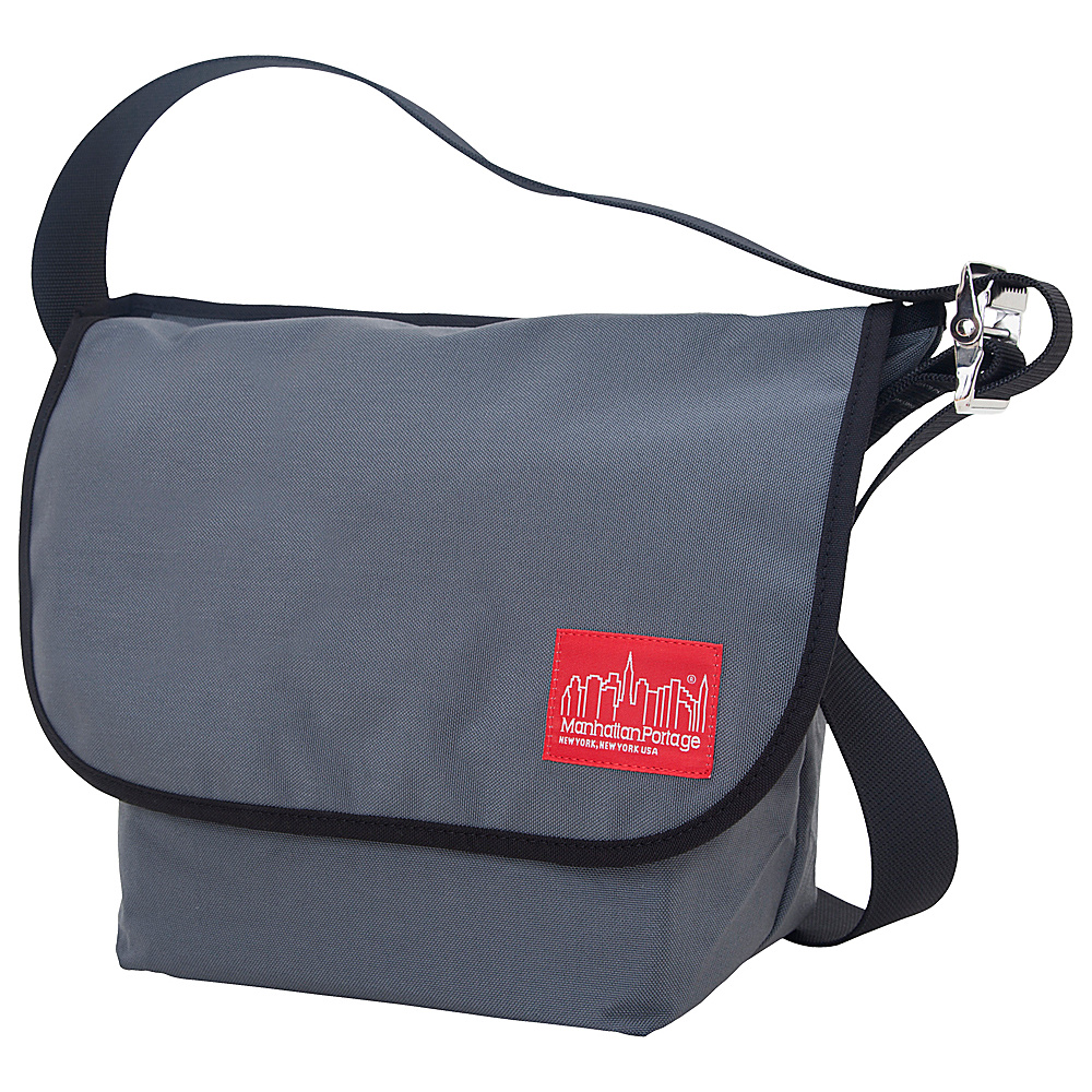 Manhattan Portage Vintage Messenger Bag (M) Gray - Manhattan Portage Messenger Bags - Work Bags & Briefcases, Messenger Bags