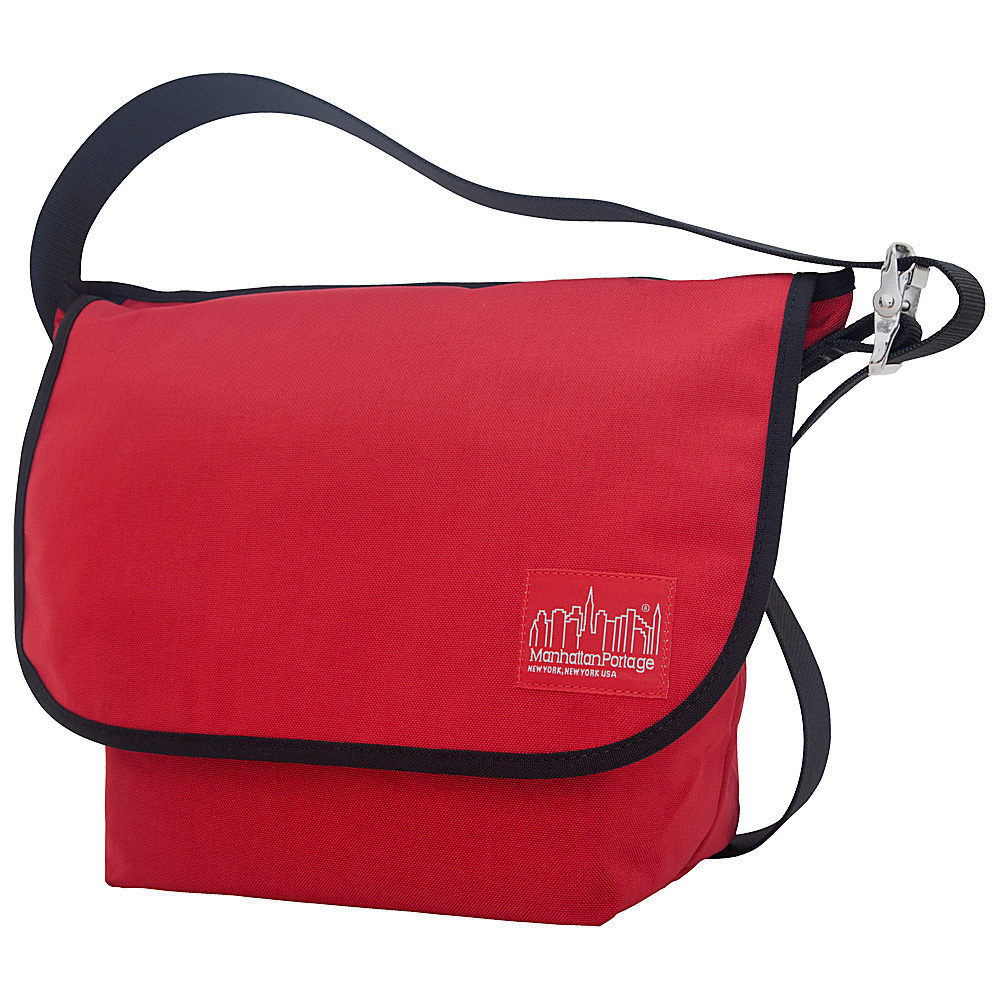 Manhattan Portage Vintage Messenger Bag (M) Red - Manhattan Portage Messenger Bags - Work Bags & Briefcases, Messenger Bags
