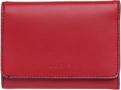 Lodis Audrey Mallory French Wallet Red - Lodis Women's Wallets