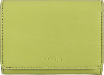 Lodis Audrey Mallory French Wallet Lime/Dove - Lodis Women's Wallets