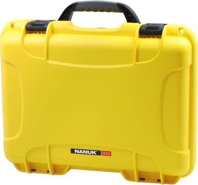 NANUK 910 Water Tight Protective Case w/ Foam Insert Yellow - NANUK Camera Accessories