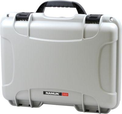 NANUK 910 Water Tight Protective Case w/ Foam Insert Silver - NANUK Camera Accessories