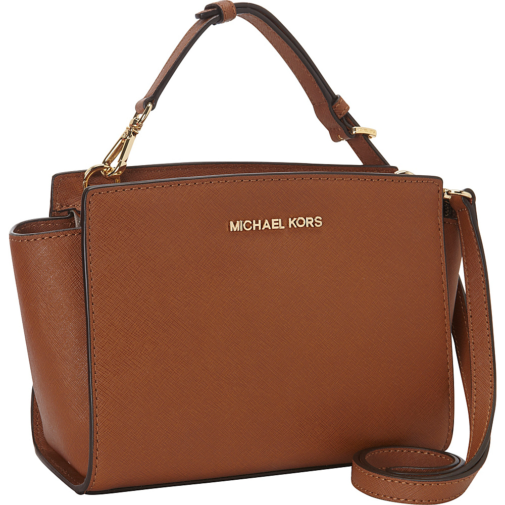 MICHAEL Michael Kors Selma Medium Messenger Crossbody Bag Luggage - MICHAEL Michael Kors Designer Handbags