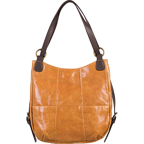 Ellington Handbags Charlie Backpack Purse Tan - Ellington Handbags Leather Handbags