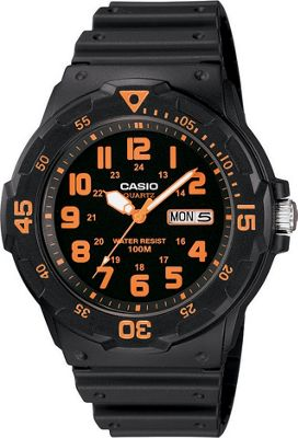 Casio Casio Men's Dive Style Watch Black - Casio Watches