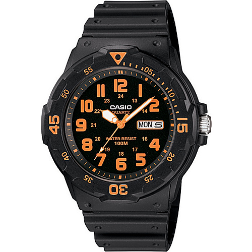Casio Men's Dive Style Watch Black - Casio Watches