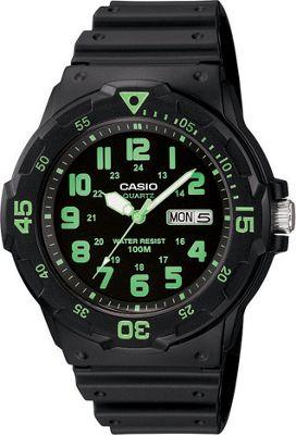 Casio Men's Dive Style Watch Green - Casio Watches
