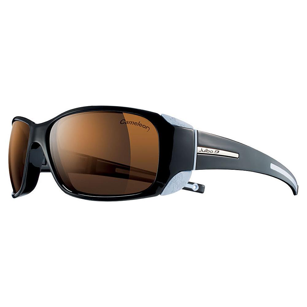 Julbo Monterosa Sunglasses (for women) - Camel NTX Photochromic & Polarized Lens Black  /  Light Blue - Julbo Sunglasses