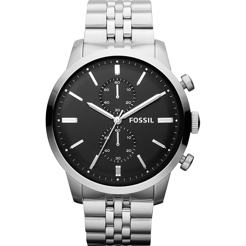 Fossil Townsman Silver - Fossil Watches - Fashion Accessories, Watches