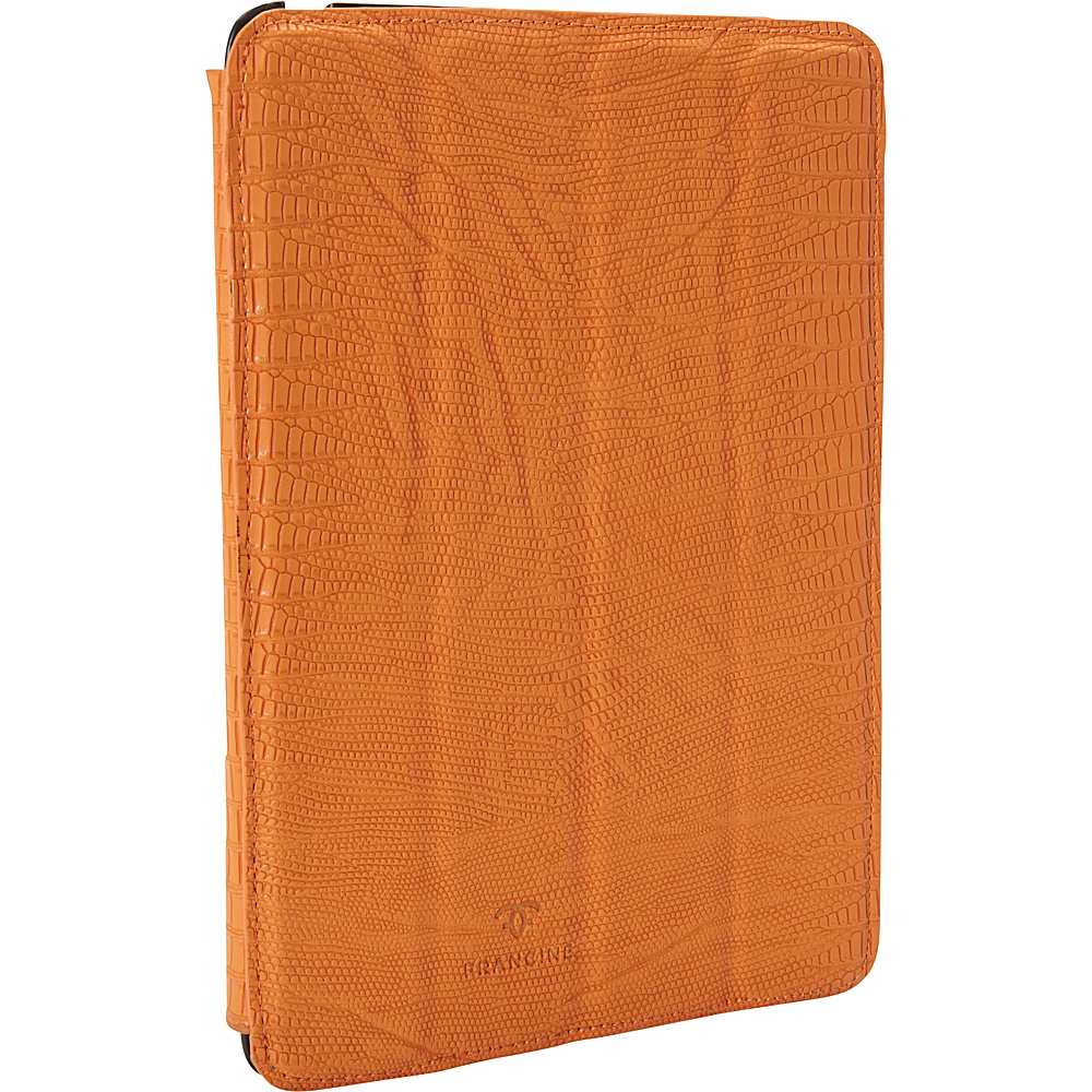 Women In Business Francine Collection 7 Tablet Folio for iPad mini Orange Women In Business Electronic Cases