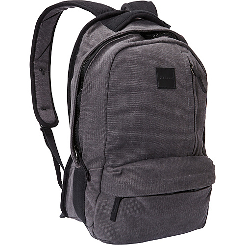 Volcom Basis Canvas Backpack Tinted Black - Volcom School & Day Hiking Backpacks