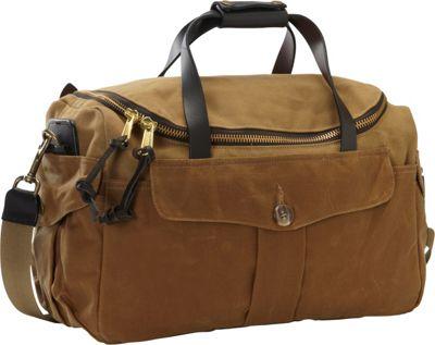 Filson Original Sportsman Bag Tan/Dark Tan - Filson Luggage Totes and Satchels