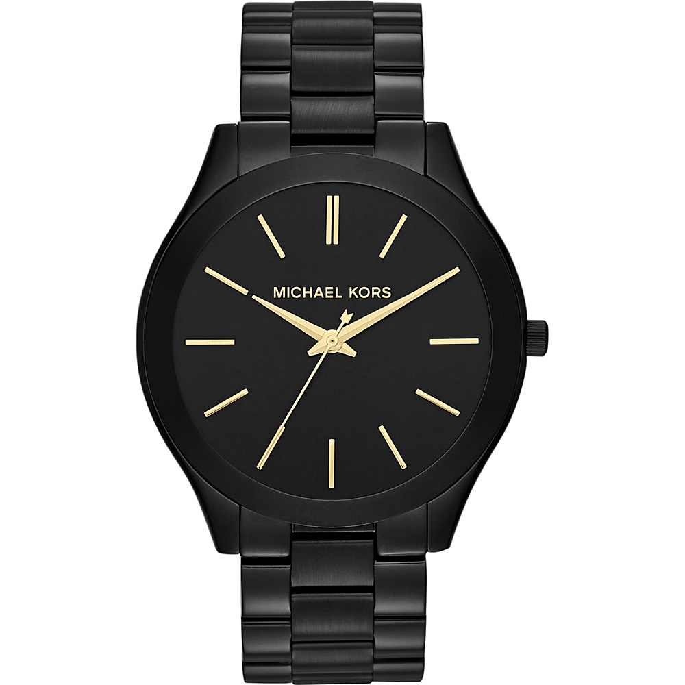 Michael Kors Watches Slim Runway Watch Black Michael Kors Watches Watches