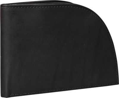 Rogue Wallets Rogue Wallets RFID Traveler Series Wallet - 8 Slots Black - Rogue Wallets Men's Wallets
