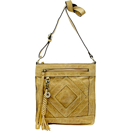 Lucky Brand Baldwin Crossbody Yellowstone - Lucky Brand Leather Handbags