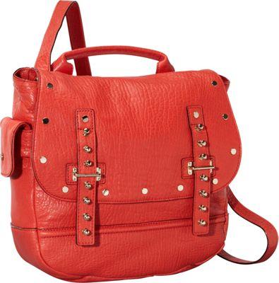 Rebecca Minkoff Logan Messenger Crossbody Bag - Bubble Lamb Fire Engine - Rebecca Minkoff Designer Handbags