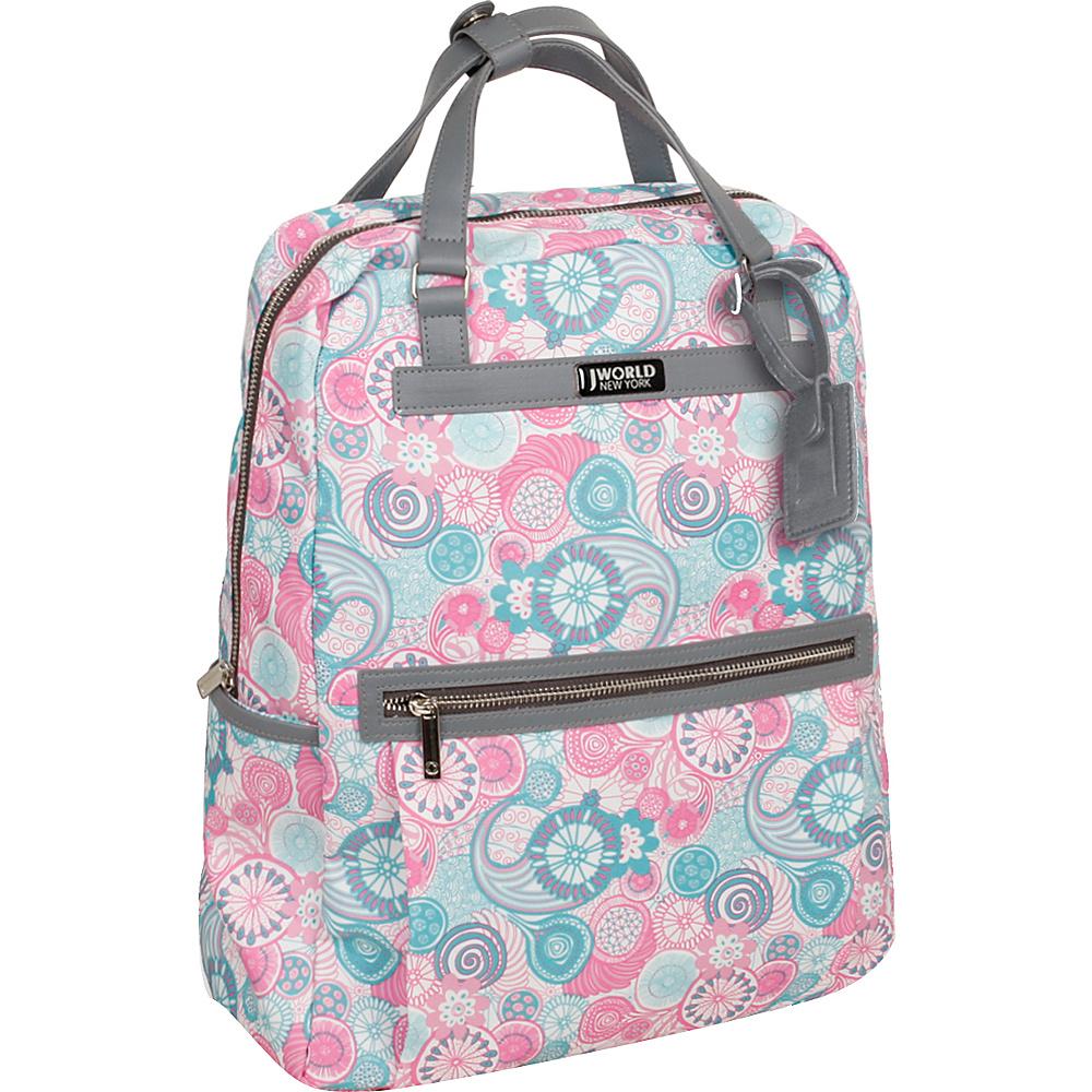 J World New York Harry Laptop Backpack Blue Raspberry - J World New York Business & Laptop Backpacks - Backpacks, Business & Laptop Backpacks