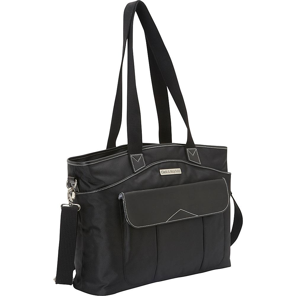 "Clark & Mayfield Newport Laptop Handbag 17.3"" Black - Clark & Mayfield Women's Business Bags"