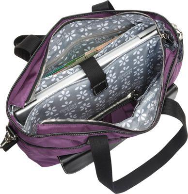 Clark & Mayfield Newport Laptop Handbag 17.3 inch Gray - Clark & Mayfield Women's Business Bags
