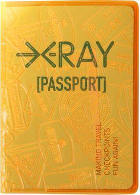 Flight 001 X-ray Passport Cover Orange - Flight 001 Travel Wallets
