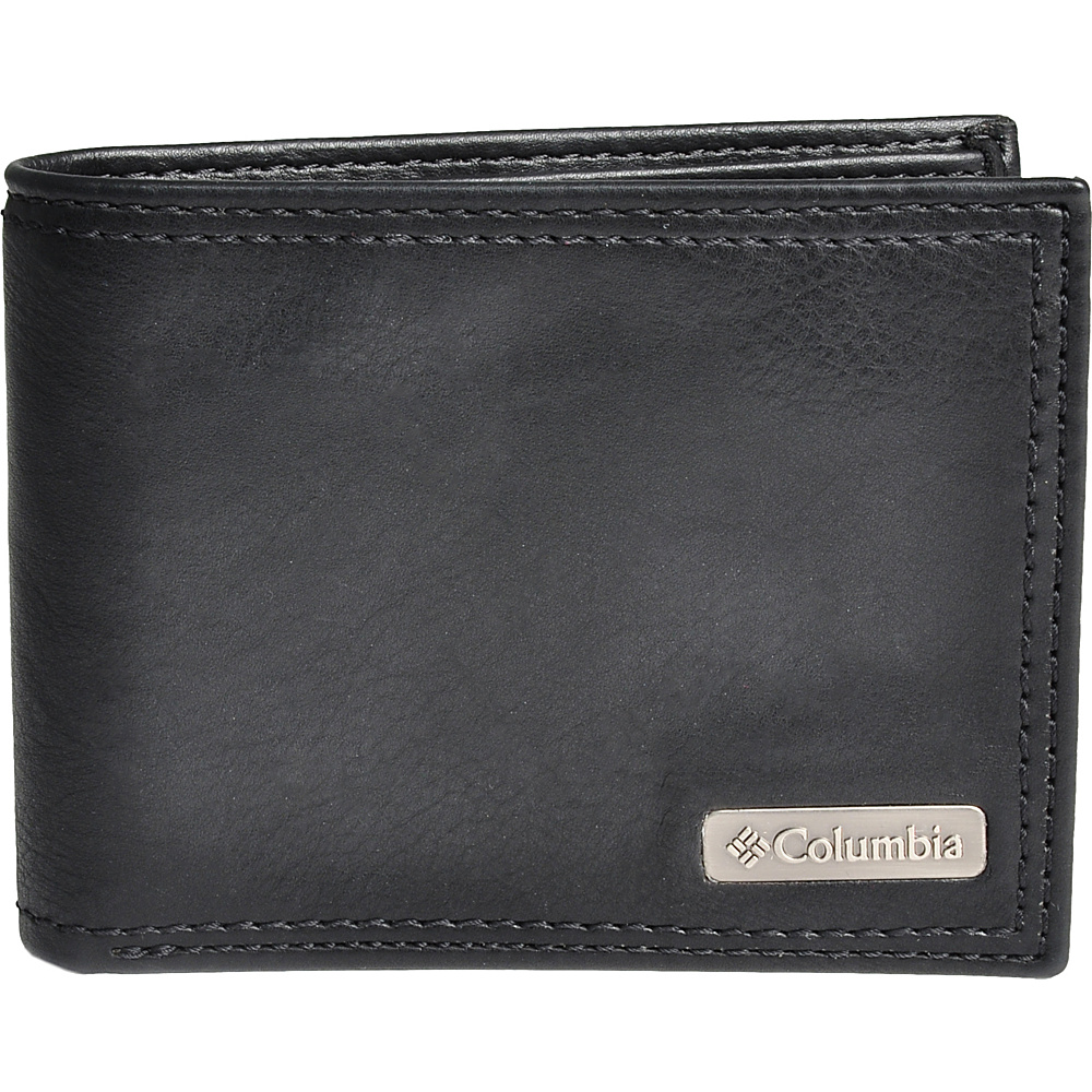 Columbia X Capacity Slimfold Black Columbia Men s Wallets