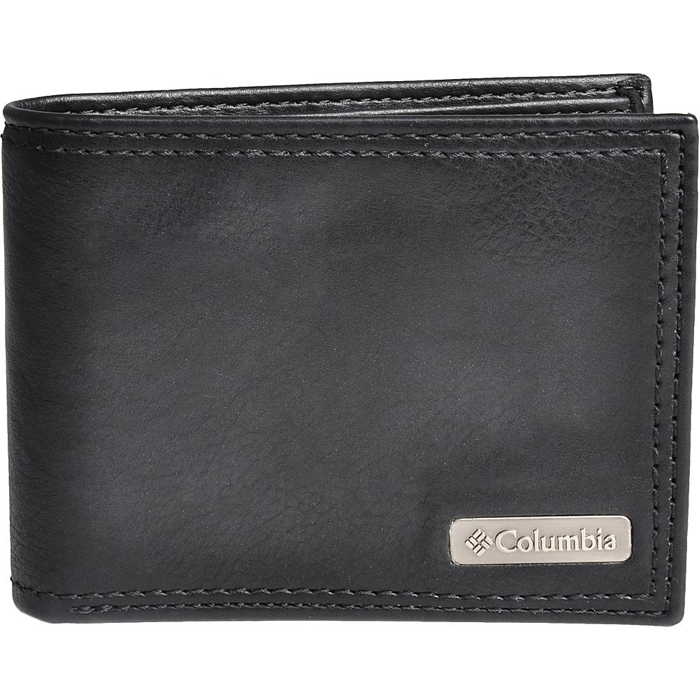 Columbia X-Capacity Slimfold Black - Columbia Men's Wallets