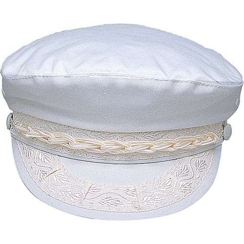 Scala Hats Cotton Fisherman's Cap WHITE-SMALL - Scala Hats Hats